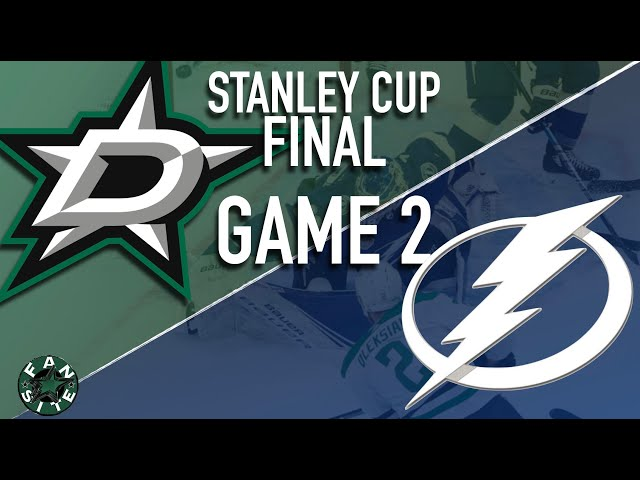 Dallas Stars vs Tampa Bay Lightning | 2020 Stanley Cup Playoffs Final, Game 2