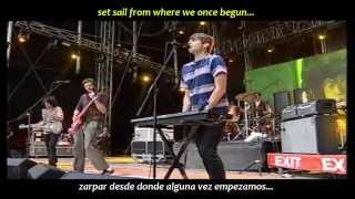 Klaxons - Golden skans (inglés y español)