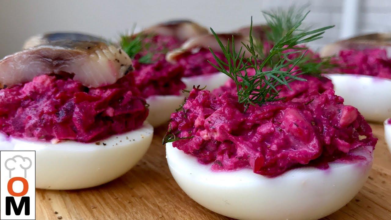 сельдь под шубой в яйце рецепт