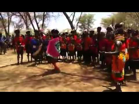 Turkana Traditional Dance in Loima Sub county in favor of