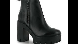 Обзор Ботинки женские Firetrap Zip Platform Boots