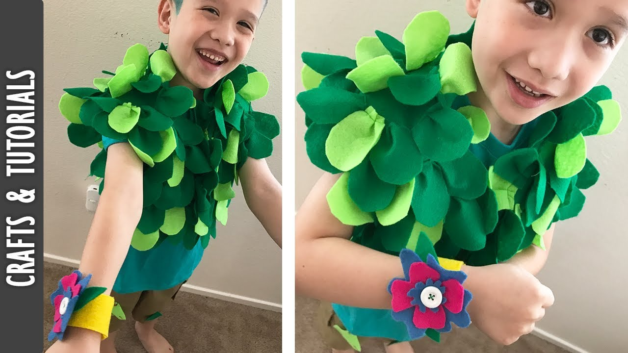553b07732d2 Branch Costume Tutorial from the Movie Trolls - The290ss - YouTube