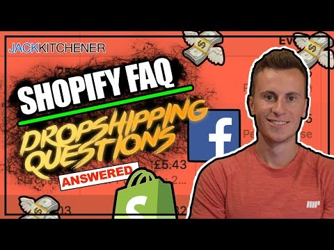 Top 10 Questions From Beginners! Shopify Dropshipping UK thumbnail