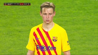 The Brilliance of Frenkie de Jong Against Athletic Bilbao!