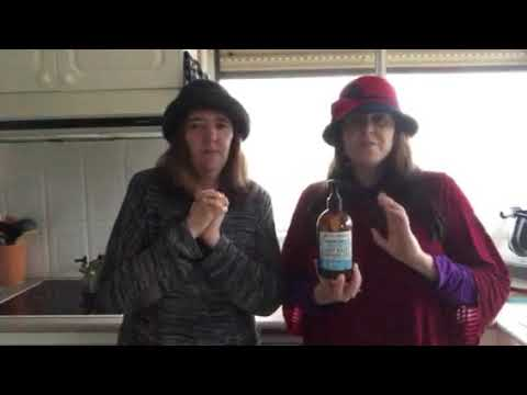 Two Natural Ladies - calming yet powerful Chamomile dishwashing liquid