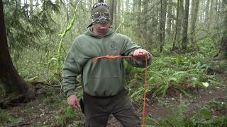 Blindfolded Bowline Practice