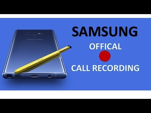 How To Enable Official Call Recording In Samsung Mobiles