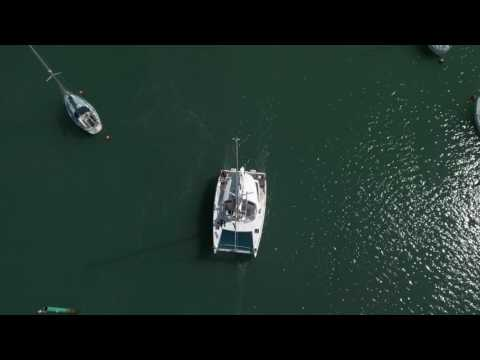 Port Solent By Drone 4K