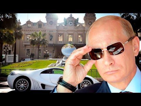 Las Mansiones Mas Hermosas y Caras de Vladimir Putin 2017