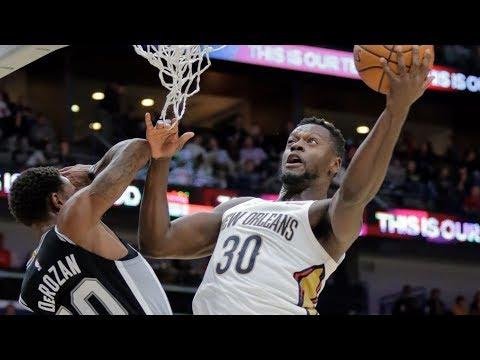 Julius Randle Triple Double Off Bench vs Spurs! 2018-19 NBA Season