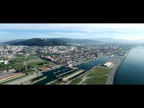 Viana do Castelo (Portugal vue du ciel)