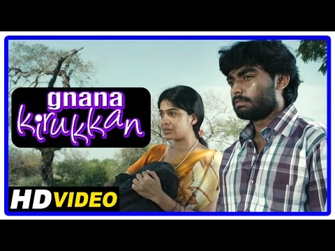 Gnana Kirukkan Tamil Movie | Scenes | Jega Leaves Archana Kavi At Her Village | Thambi Ramaiah