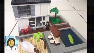 LEGO - Como Construir uma Casa Moderna de Lego 2
