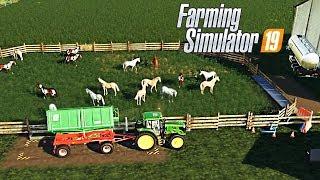 FARMING SIMULATOR 19 #32 - SEGHERIA PERSONALE + CAVALLI - NF MARSCH ITA
