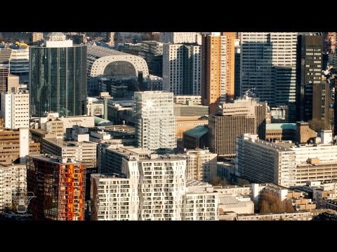 Rotterdam vanuit de lucht