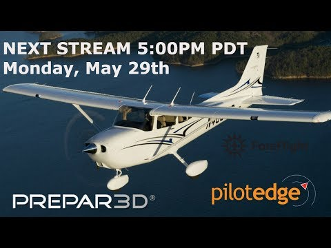 San Diego  to Santa Barbara |  Cessna 172SP| P3D V 3.4 | Pilot Edge ATC