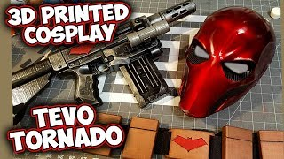 RedHood Cosplay 3d Printing with Tevo Tornado
