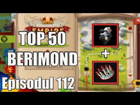 [RO].[GGE-ROMANA] #112 Top 50 Berimond+Misiune 125k Bravura!