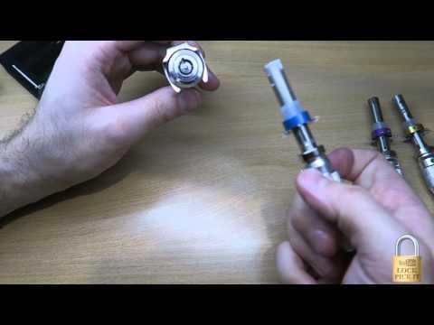 HUK 7 Pin Tubular Lock Pick 1st Time set up Demo & Picking