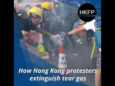 Cómo neutralizar una granada de gases lacrimógenos