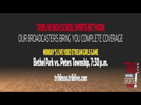 WPIAL Girls Basketball - Bethel Park at Peters Township