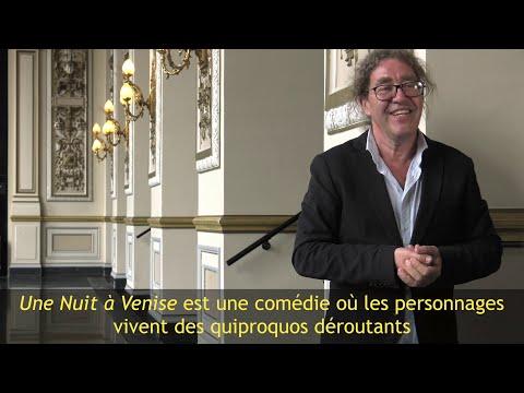 Une Nuit à Venise - Interview Peter Langdal, metteur en scène