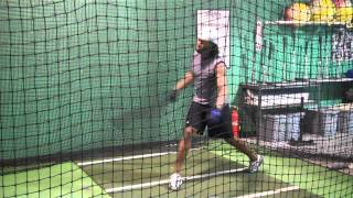 Jose Reyes Private Hitting Training Session - 2011 National League Batting Champion
