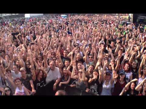 Crowd Cam - Sofia Rocks Festival 2014 Sofia, BG