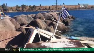 В Греции 4 человека погибли при столкновении прогулочного судна и катера(Сайт телеканала http://24.kz/ru/news/ Twitter https://twitter.com/tv24kz Facebook https://www.facebook.com/tv24KZ/ Вконтакте https://vk.com/tv24kz., 2016-08-17T05:14:39.000Z)