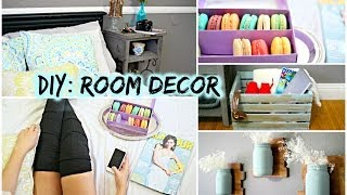 Diy Room Decor For Cheap! Tumblr + Pinterest Inspired