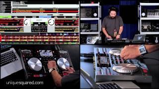 Numark NS6 Demo w/ DJ Danny M   UniqueSquared.com