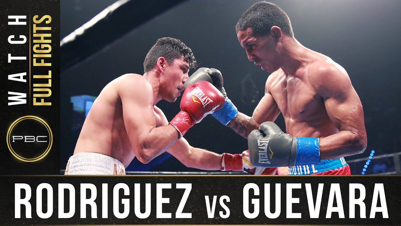 Rodriguez vs Guevara FULL FIGHT: June 3, 2016 - PBC on Spike
