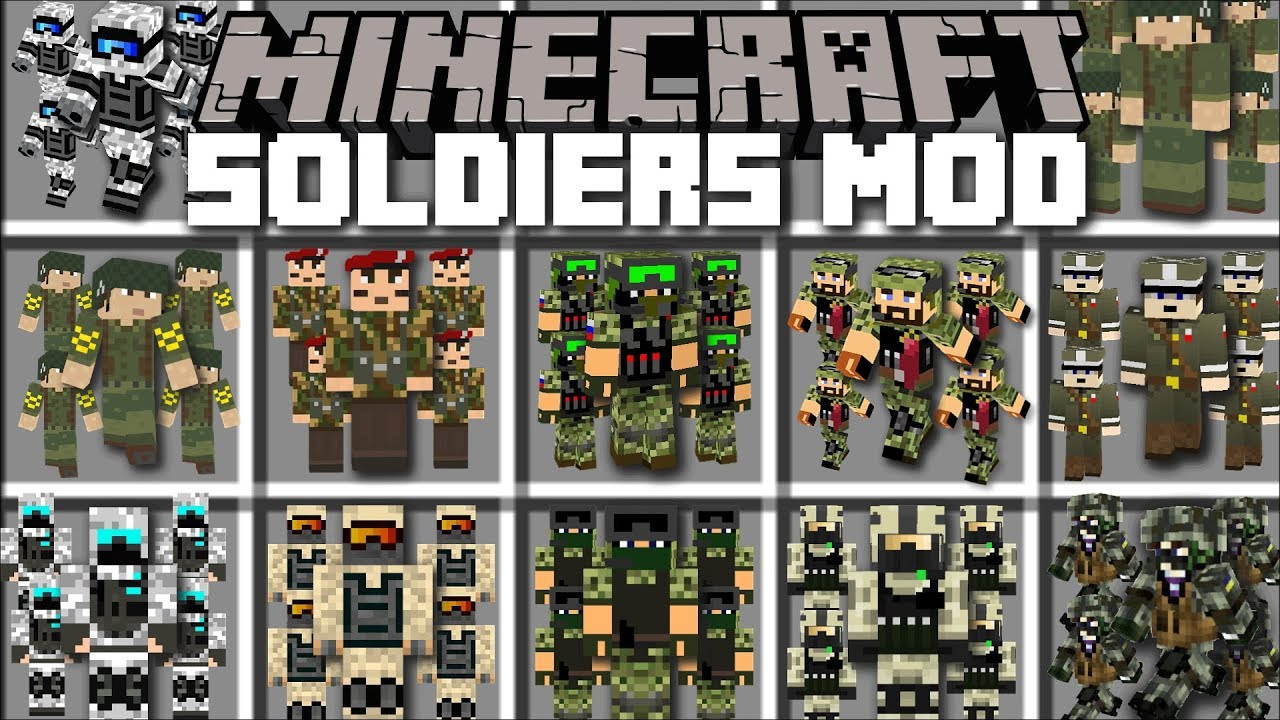 how to get a soldier in minecraft