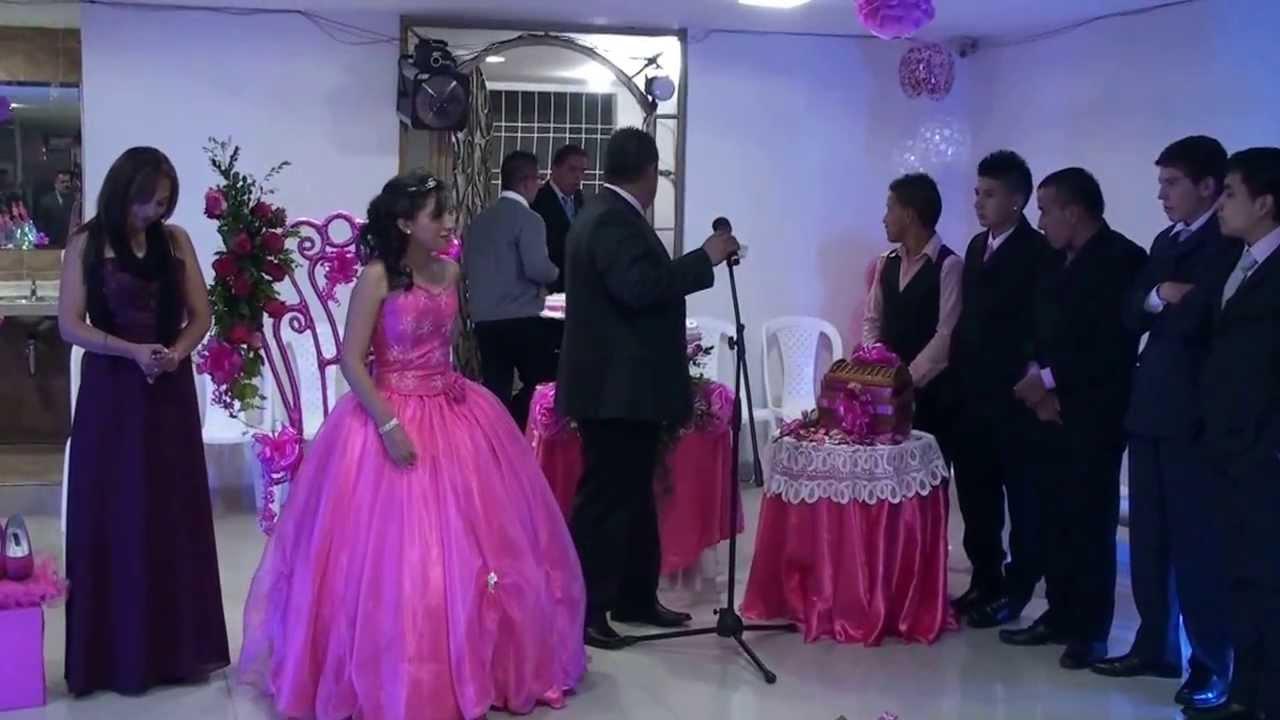 Protocolo fiesta de 15 de camila salas youtube for Como hacer una fiesta de 15