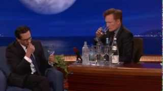Water Sommelier Martin Riese Interviewed by Conan O'Brian Part 1
