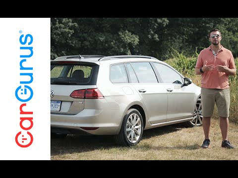 2016 Volkswagen Golf Sportwagen | CarGurus Test Drive Review