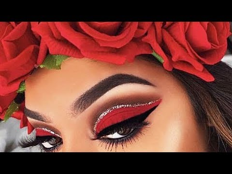 eye makeup tutorial compilation 2018💜💙creative eyes makeup