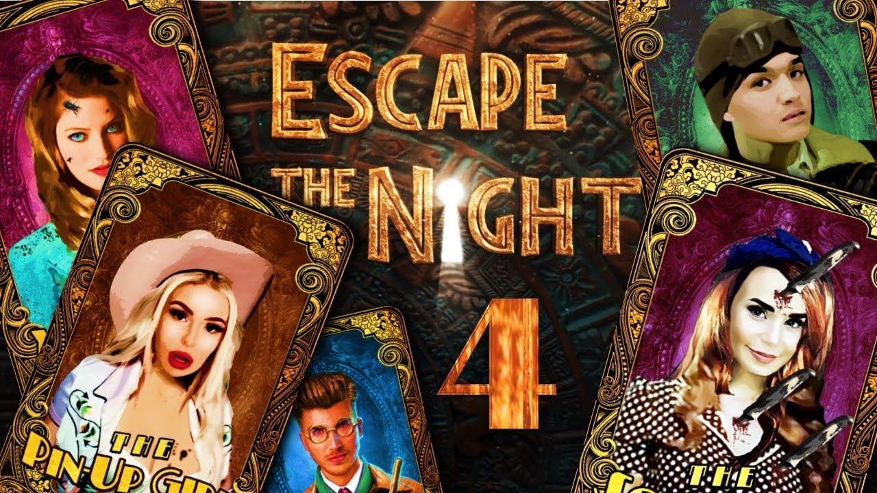 Escape the Night Season 4 Death Order (+ Tarot Card Designs)