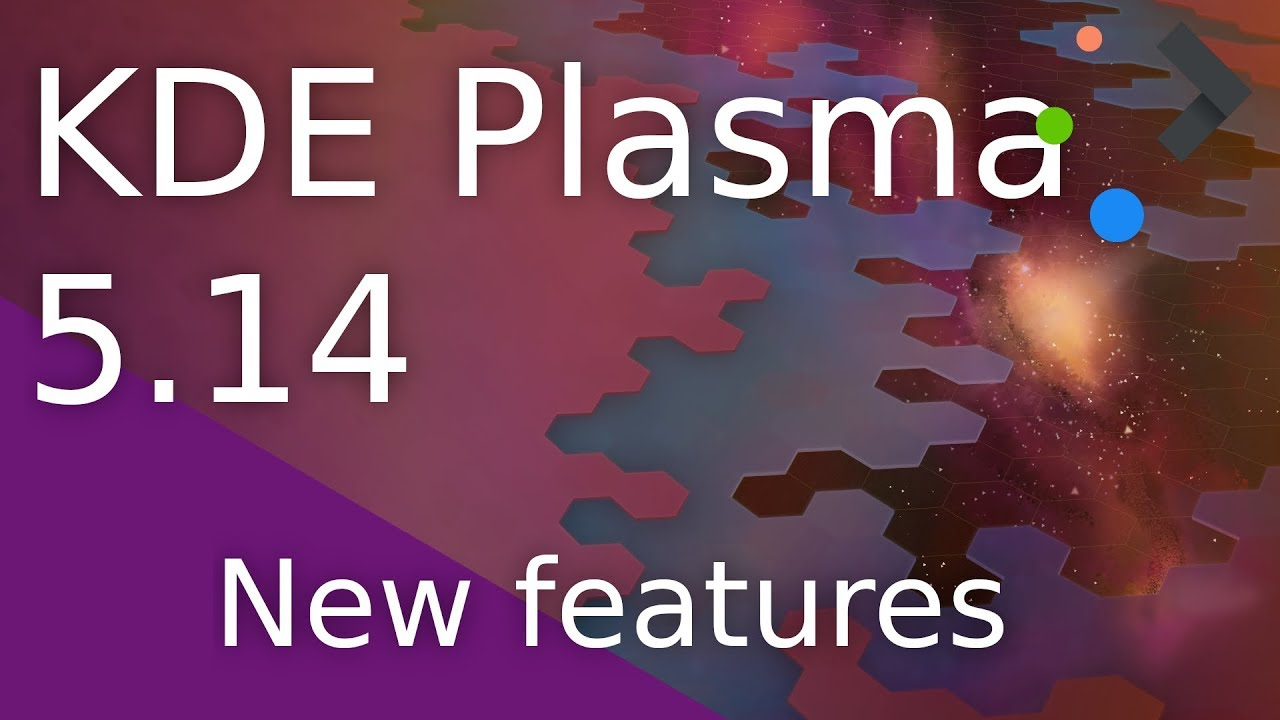 KDE Plasma 5 14 0 - New features - Video Tour