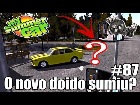 My Summer Car - O DOIDO DO CARRO VELHO SUMIU! TRABALHANDO PRA PAGAR O MOTOR #87 (G27 mod)