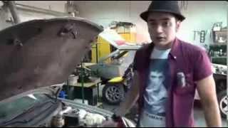 видео Передняя подвеска ВАЗ 2109 - способы улучшения технических характеристик