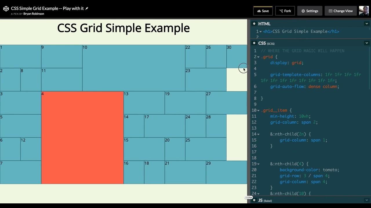 Start Exploring the Magic of CSS Grid Layout - bryanlrobinson com