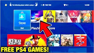 Get Any PS4 Game For FREE Method 2019 - How To Get PS4 GAMES FOR FREE Glitch! 2019 *EASY* *NEW*