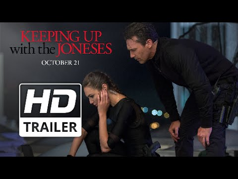 Keeping up with the Joneses   Official HD Trailer #1   2016