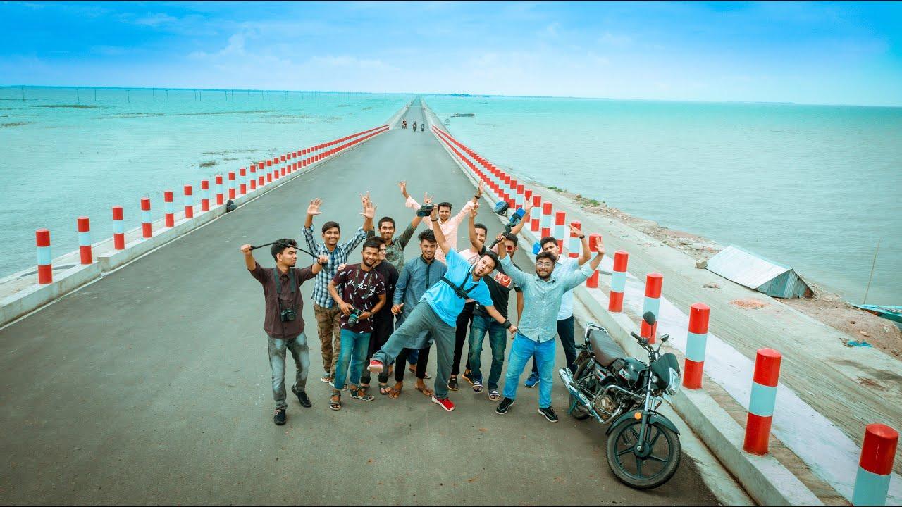 একদিনে ঘুরে আসলাম মিঠামইন | Beautiful Road In Bangladesh | Mithamain Vlog | NOVO ROSH