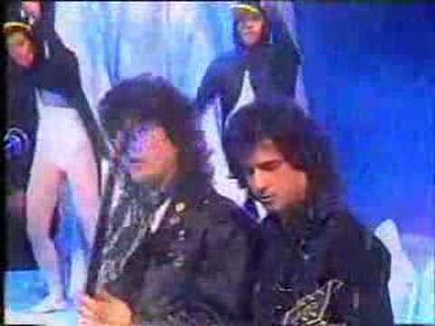 Paulo Ricardo Programa Milk Shake - Rede Manchete - 1991
