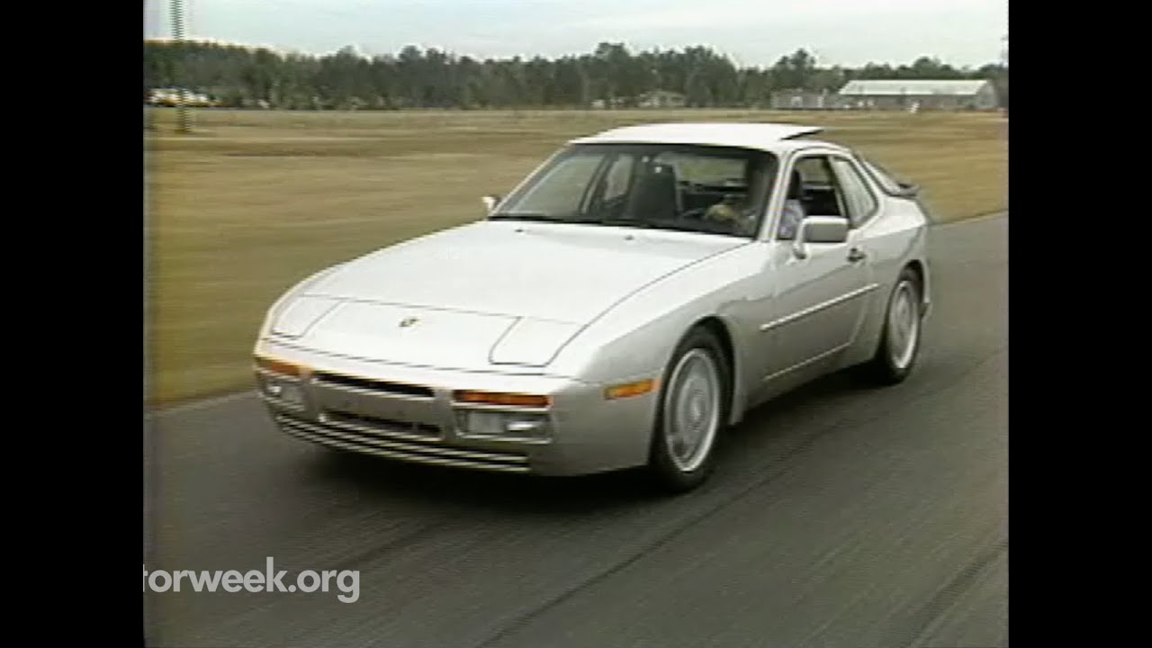 MotorWeek | Retro Review: '89 Porsche 944 Turbo - YouTube