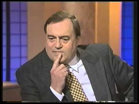 John Prescott interviewed by Clive Anderson