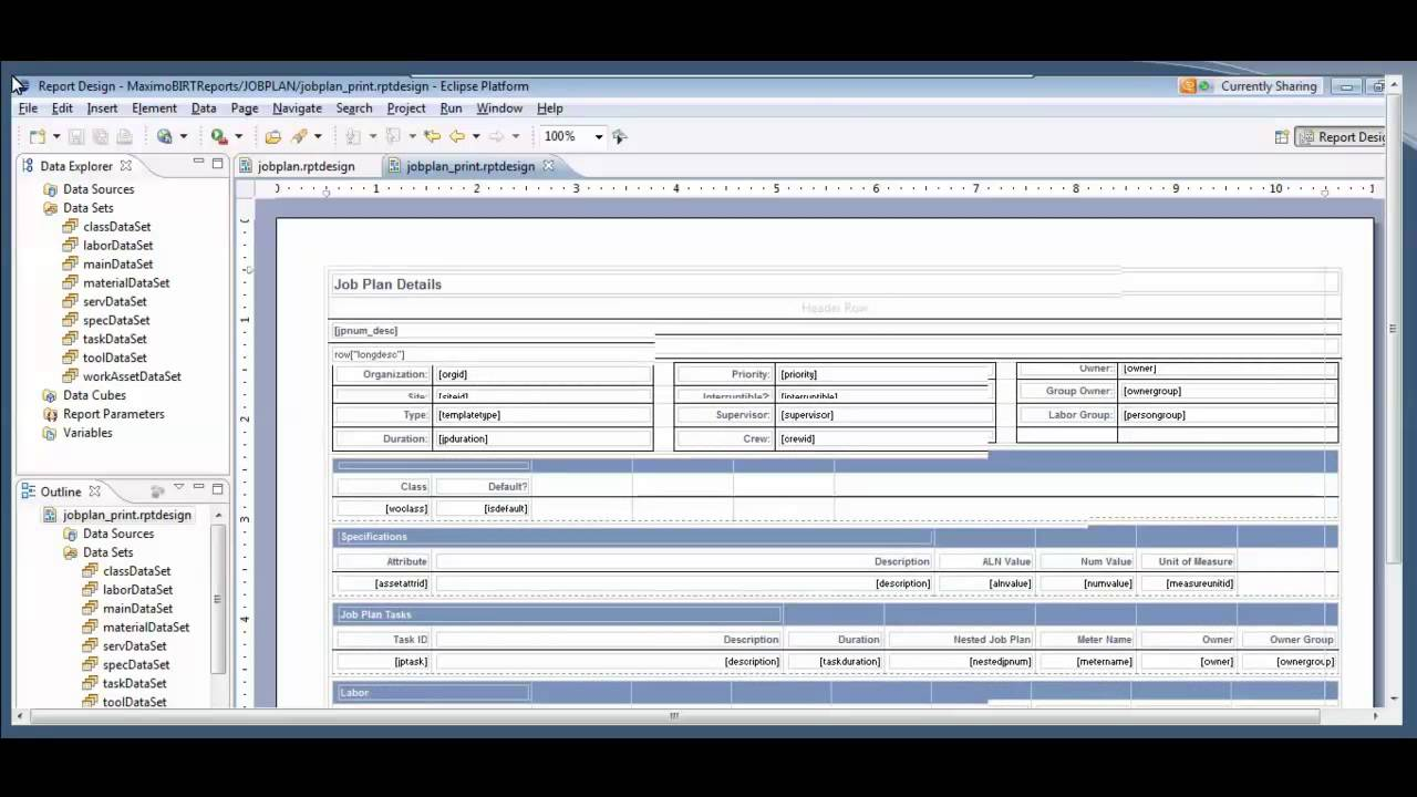 Creating BIRT Reports for IBM Maximo - Ontracks Consulting Webcast