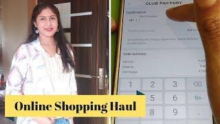 Club Factory Shopping Haul ಹಾಗು Online Shop ಮಾಡುವ ವಿಧಾನ I Kannada Vlogs